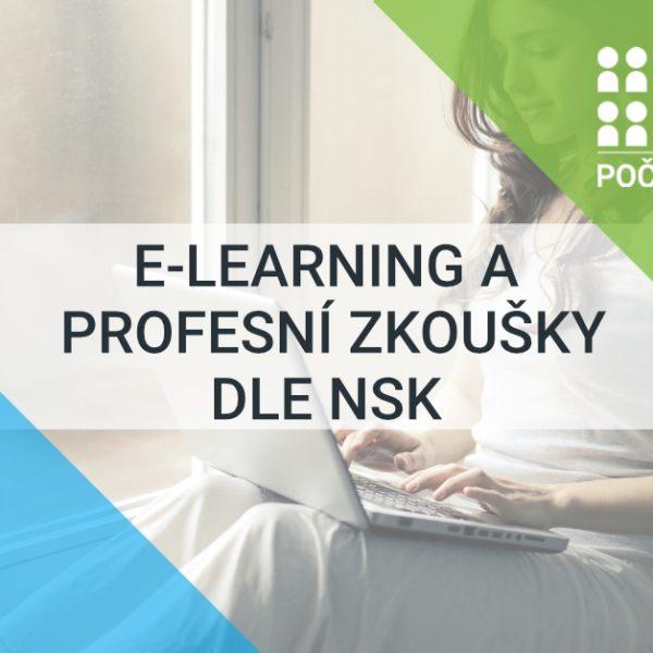 E-learning a profesní zkoušky dle NSK
